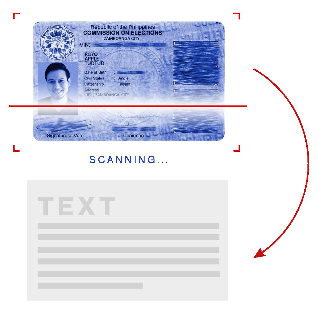 Philippines Voter Card OCR