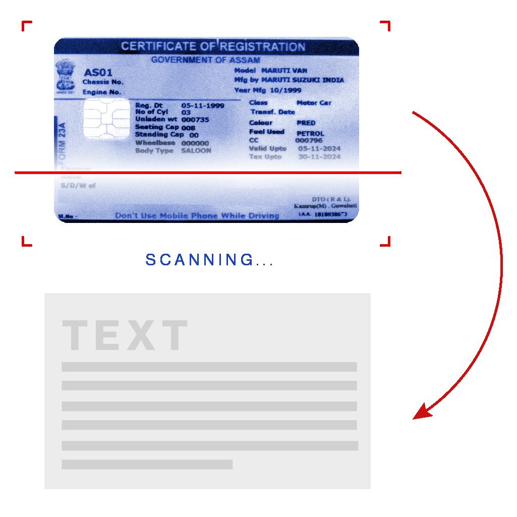 RC Card OCR